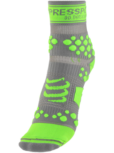 Compressport Racing V2 Trail High Socks Grey/Green
